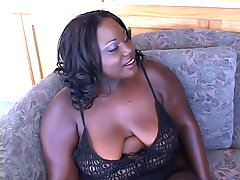 Horny ebony BBW gets her plump booty cock stuffed black chubby movies